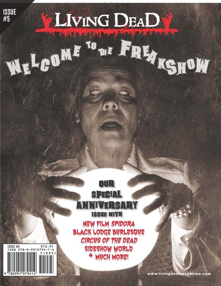 THE MONDO VIXEN MASSACRE in Issue #5 of Living Dead Magazine(Print)