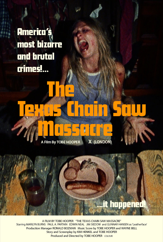 THE TEXAS CHAIN SAW MASSACRE - Silver Ferox Design (17) copy