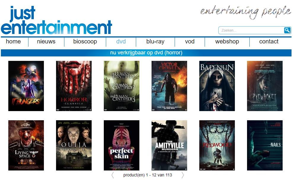 Just Entertainment DVD It Hungers